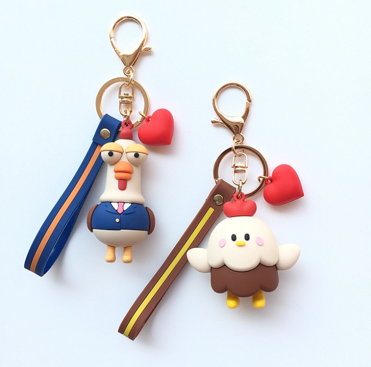 Production process of silicone key ring introduced by silicone gift manufacturer