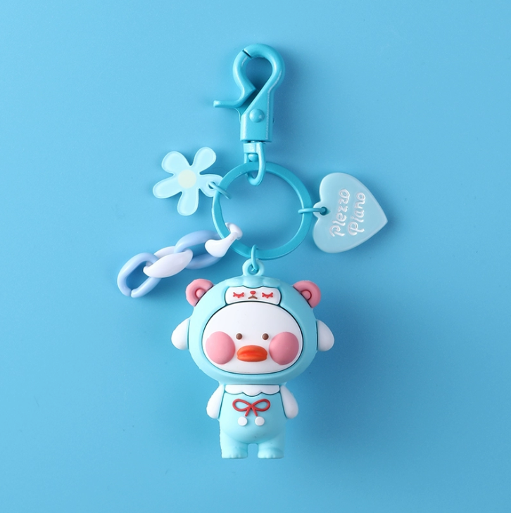 PVC soft glue dropping technology makes your cartoon key chain more beautiful